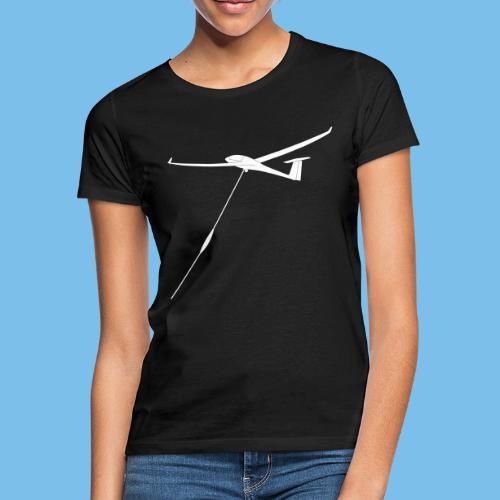 Windenstart Segelflugzeug Segelflieger Geschenk - Frauen T-Shirt