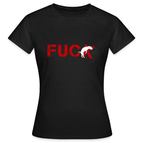 FU*KING DOG - Maglietta da donna