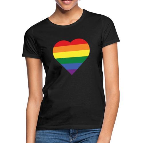 RainbowHeart - Women's T-Shirt