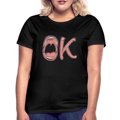 OK - T-shirt Femme