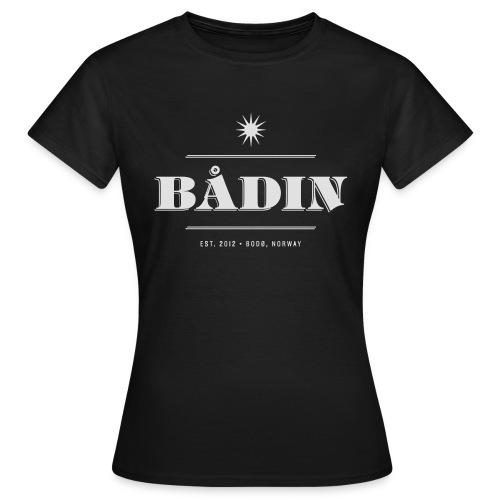 Bådin - black - T-skjorte for kvinner