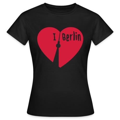 I love Berlin (1-farbig) - Frauen T-Shirt