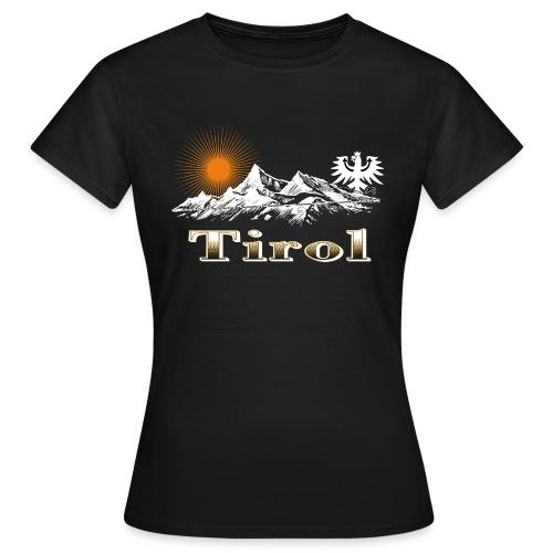 Tiroler Berge - Frauen T-Shirt