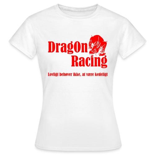 DragOn Racing - Dame-T-shirt