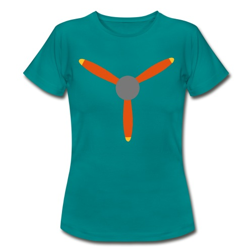 3 blade propeller - Women's T-Shirt