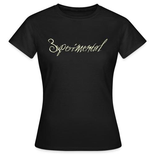3xperimental tshirt - T-shirt Femme