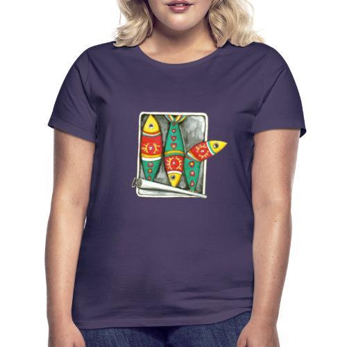 Les sardines du Portugal - T-shirt Femme
