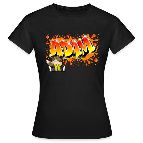Graffiti Adam Splash - T-shirt Femme