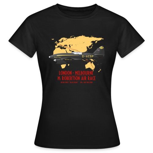 DH.88 Comet Black Magic - Women's T-Shirt