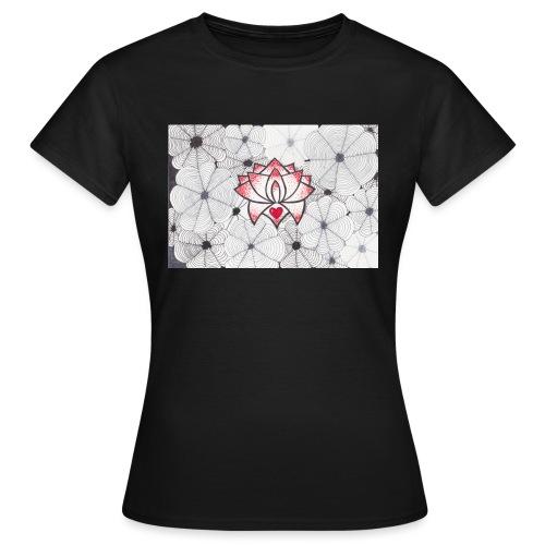 Lotus Heart - Maglietta da donna