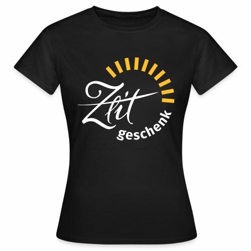 Zeitgeschenk by betablogr - Frauen T-Shirt