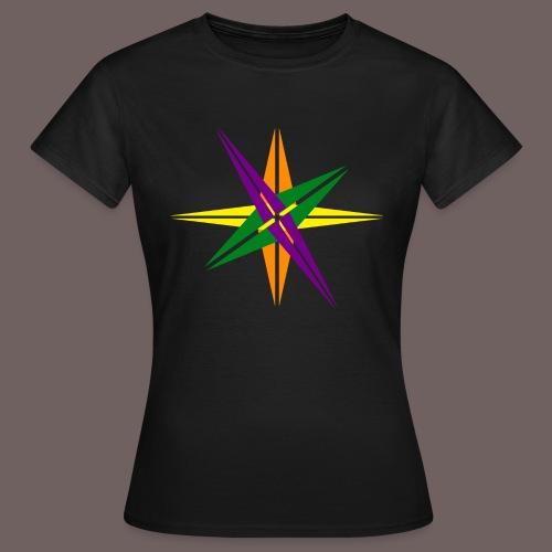 GBIGBO zjebeezjeboo - Love - Couleur d'étoile brillante - T-shirt Femme