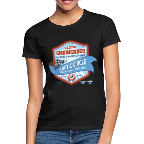 MM Snowcross 2020 virallinen fanituote - Naisten t-paita