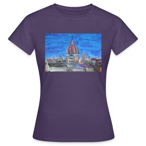 Veduta di Roma - Maglietta da donna