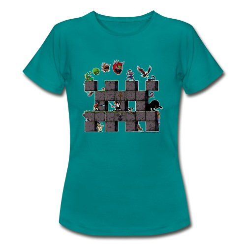 L'histoire du jeu vidéo #AbandonwareFrance - T-shirt Femme