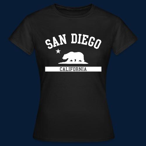 San Diego - Frauen T-Shirt
