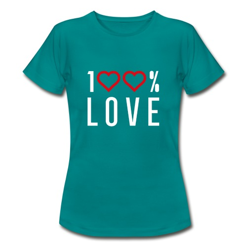 100 LOVE - Women's T-Shirt
