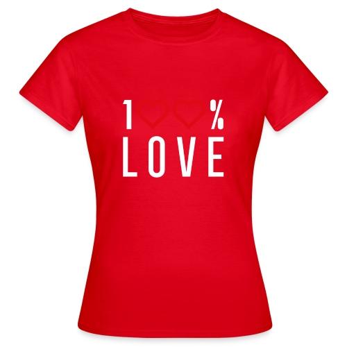 100 LOVE - Women's T-Shirt