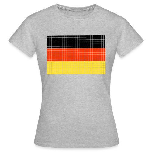 german flag.png - Maglietta da donna