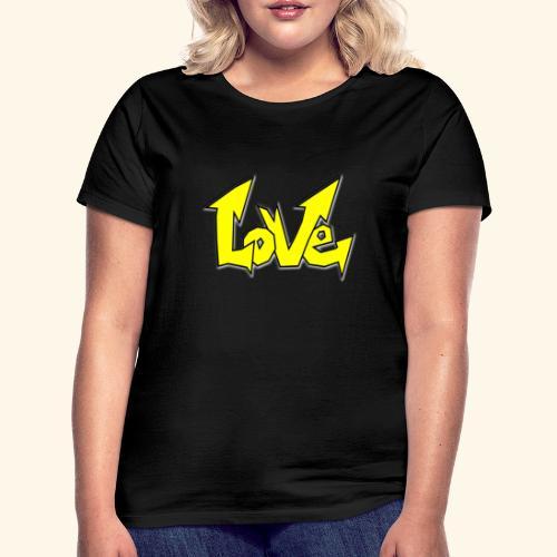 Vecteur d'amour - T-shirt Femme