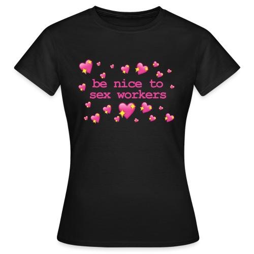 benicetosexworkers - Women's T-Shirt
