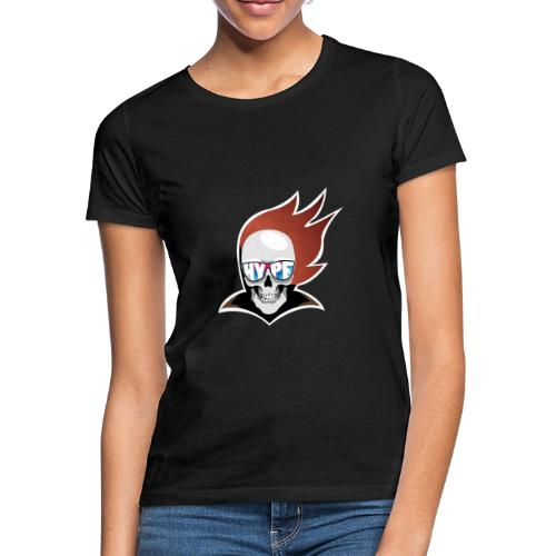 Hyped Skeleton - Frauen T-Shirt