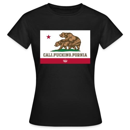 California, Californiano, Fuck, Orso - Maglietta da donna