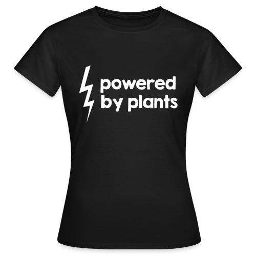 Powered by plants #2 - Frauen T-Shirt