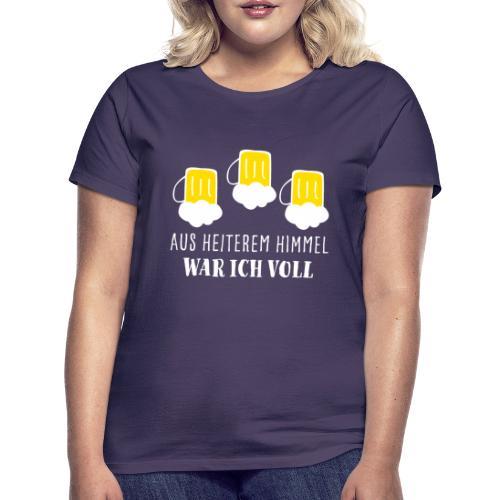 Saufshirt Geschenk Mallorca Weihnachten saufen JGA - Frauen T-Shirt