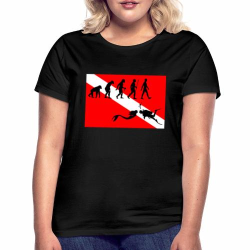 Scuba Evolution - Women's T-Shirt