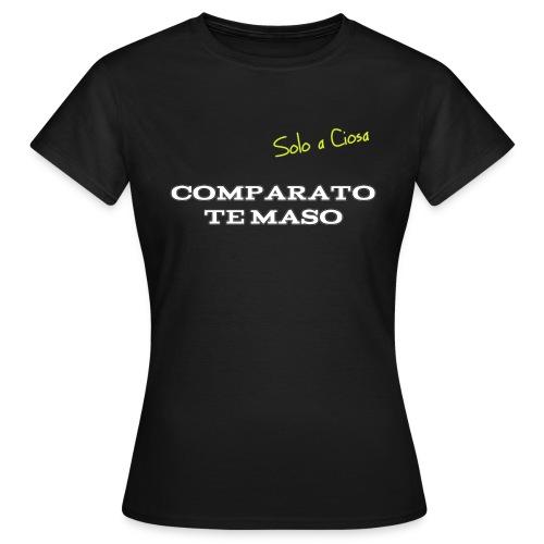 COMPATATO TE MASO - Maglietta da donna
