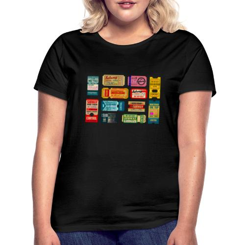 SUBWAY BROADWAY - Camiseta mujer