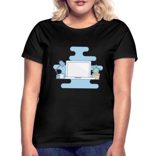 Arbeitstisch - Frauen T-Shirt