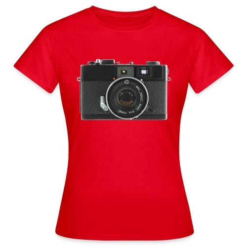 Vintage Camera Auto S3 - Maglietta da donna