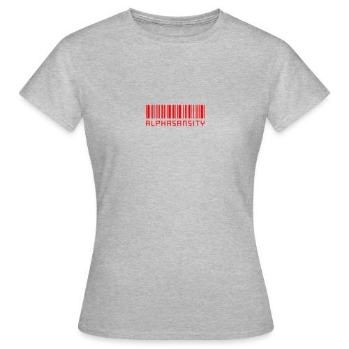 BASS X ALPHASANSITY - Vrouwen T-shirt