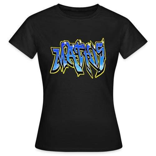 Graffiti Mathis - T-shirt Femme