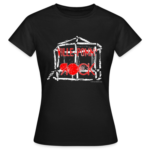 Ville-Pomm'Rock 2013 - T-shirt Femme