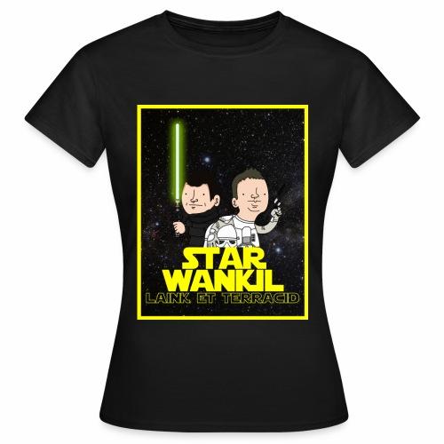 Star Wankil Affiche - T-shirt Femme