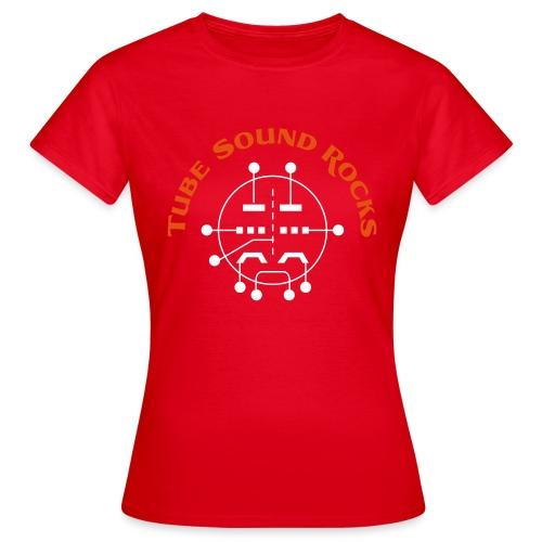 ECC88 - Tube Sound Rocks - Frauen T-Shirt