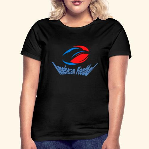 american football - T-shirt Femme