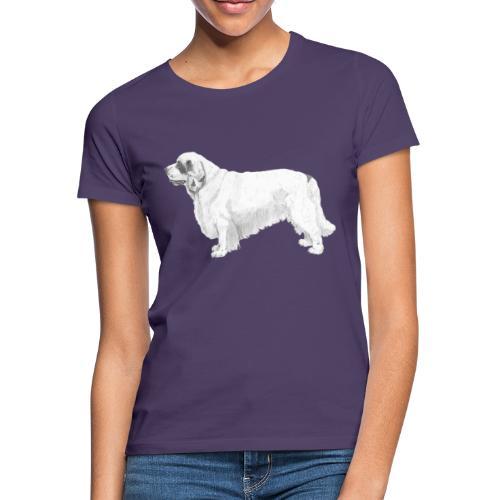 clumber spaniel - Dame-T-shirt