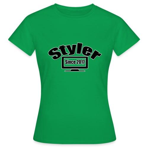 Styler Design T-Shirt Vrouwen - Vrouwen T-shirt