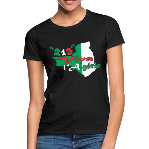modelage 123 viva l'algerie - T-shirt Femme
