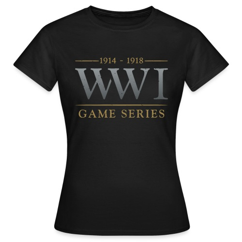 WW1 Game Series Logo - Vrouwen T-shirt
