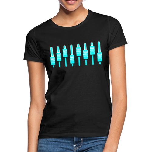 Fréquence bleu - T-shirt Femme