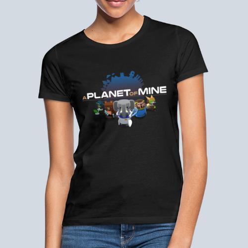 logo planetofmine dark HD - T-shirt Femme
