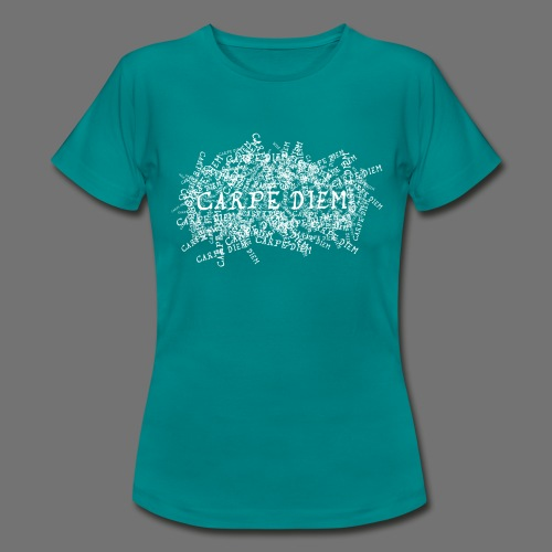 carpe diem (white) - Women's T-Shirt