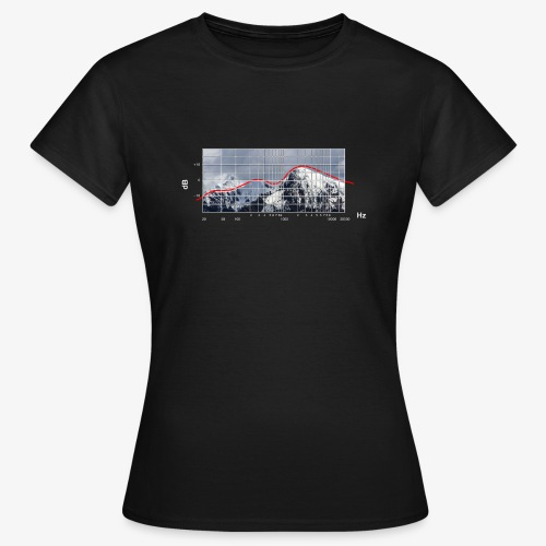 Frequency Alpin Response - Mörk - T-shirt dam