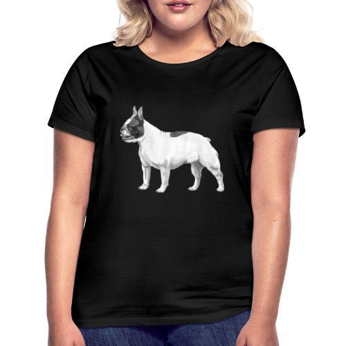 French Bulldog - Dame-T-shirt