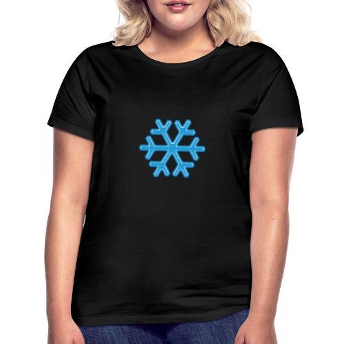 Snowflake - Maglietta da donna
